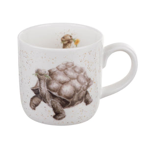 Royal Worcester - Wrendale - 'Aged to Perfection' Tortoise Mug