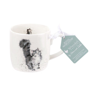 Royal Worcester - Wrendale - 'Lady of the House' Cat Mug