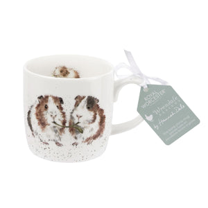 Royal Worcester - Wrendale - 'Lettuce Be Friends' Guinea Pig Mug