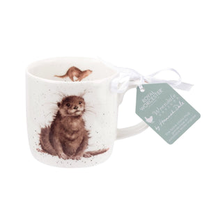 Royal Worcester - Wrendale - 'River Gent' Otter Mug