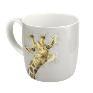 Royal Worcester - Wrendale - 'Flowers' Giraffe Mug