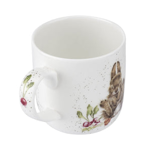 Royal Worcester - Wrendale - 'Grow Your Own' Rabbit Mug