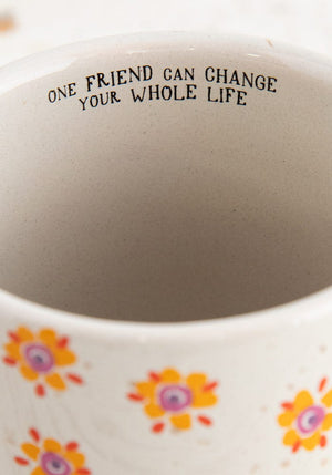 Natural Life - Yellow Flower Bungalow Mug