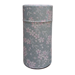 Japanese Tea Canister - Pink Blossoms - 200g