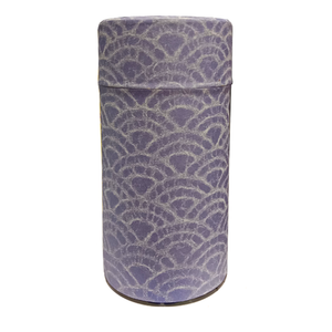 Japanese Tea Canister - Light Purple - 200g