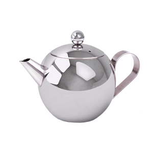 Stainless Steel Teapot Small - Red Sparrow Tea Company