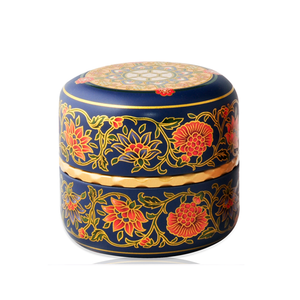 Japanese Tea Canister - Tamiko - Blue