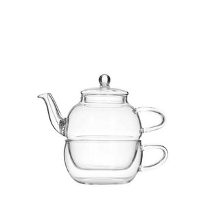 Glass Tea For One Set - Red Sparrow Tea Company