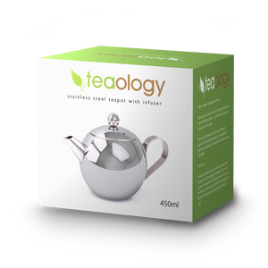 small stainless steel teapot 450ml