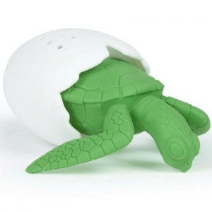 Turtle Under The Tea Infuser - Red Sparrow Tea Company
