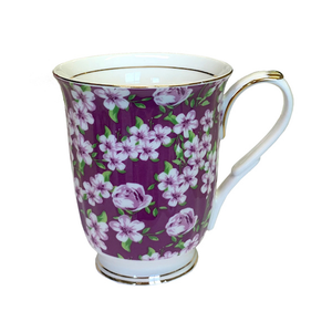 KH - Chintz Mug - Violet Meadow