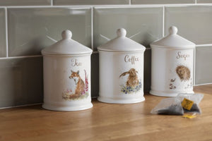 Royal Worcester - Wrendale - Coffee Canister Hare