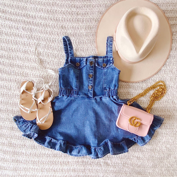 Aurora Denim Dress