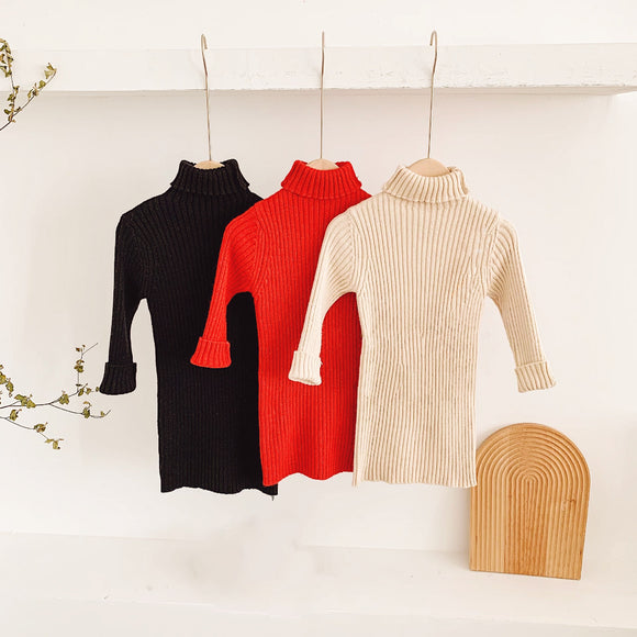 Jingle Turtleneck Dresses