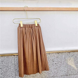 Gingerbread Maxi Skirt