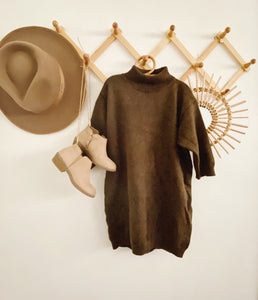 Ash Turtleneck Dress