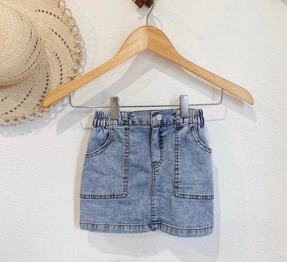 Diana Denim Skirt