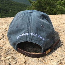 Load image into Gallery viewer, Glen Boulder Original Hat on Midnight Blue Adams Hat Back Design by Glen Boulder
