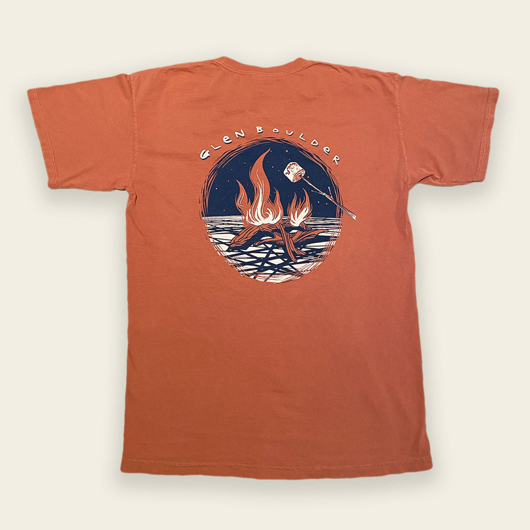 Bonfire Bliss Tee - Burnt Orange
