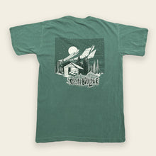 Load image into Gallery viewer, Moonlit Cabin Tee - Light Green
