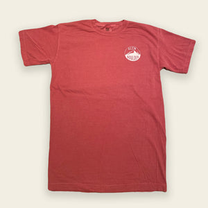 Fly Fisherman Tee - Crimson