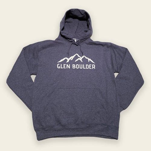 Ridgeline Hoodie - Heather Navy Blue