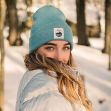 Load image into Gallery viewer, Alpine Beanie - Light Blue