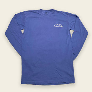 Powder Day Long Sleeve Tee - Icy Blue