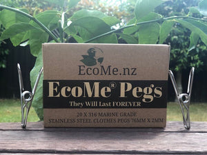 EcoMe Pegs - buy once, last FOREVER!