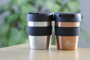 Forever cups : Double walled stainless steel is the best choice for takeaway coffee