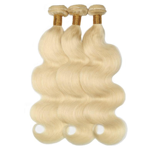 3 Blonde Body Wave Bundles