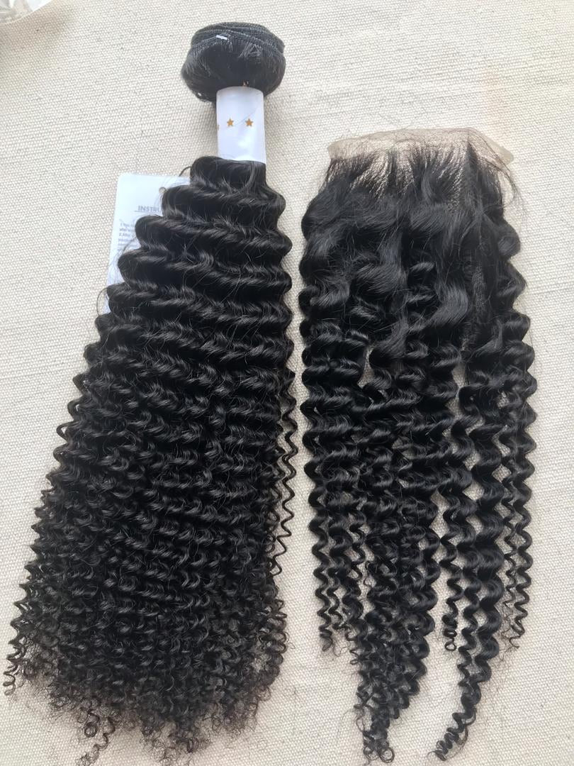 3 Bundles +  Frontal