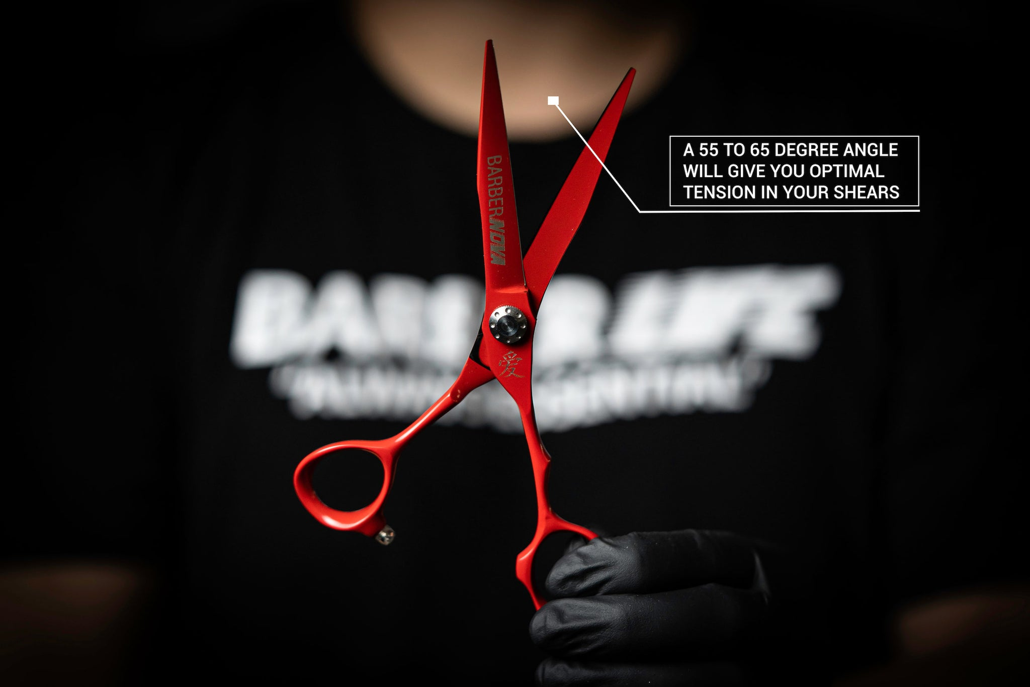 how to get the perfect shear tension, calibrating your shears, optimal shear tension