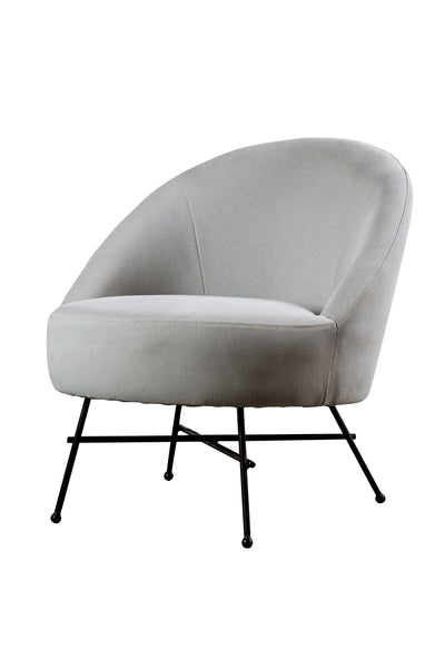 Sillón Amy Club Grey