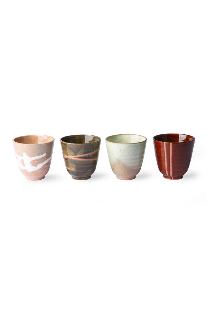 Taza Kyoto Set 4 multicolor