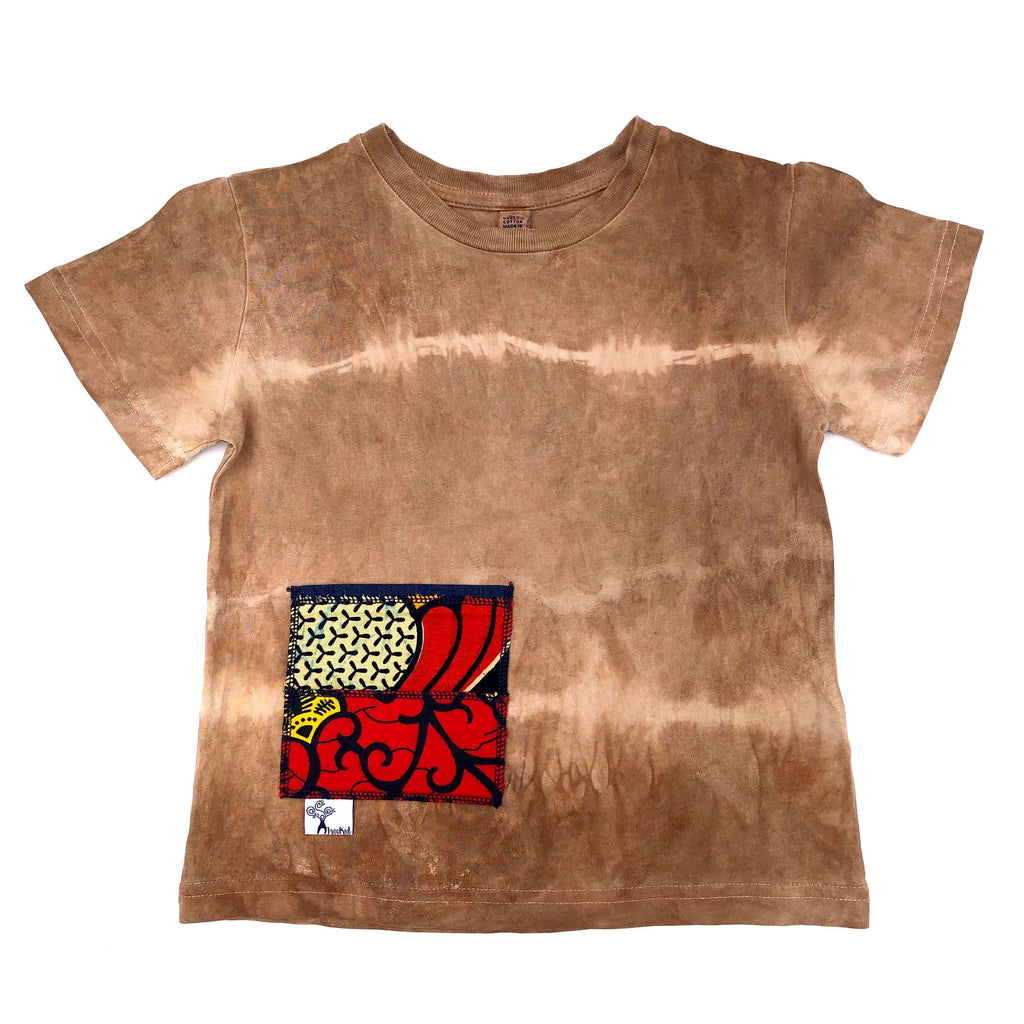 Dark Brown Summer Tee