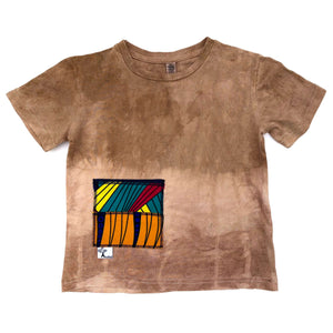 Pink & Brown Summer Tee