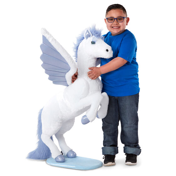 Lifelike Plush Giant Pegasus Stuffed Animal