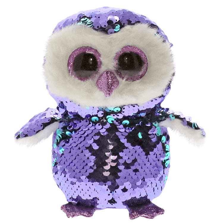 Ty Inc Moonlight Owl Flippable