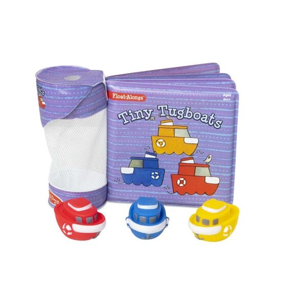 Tiny Tugboats Bath Book