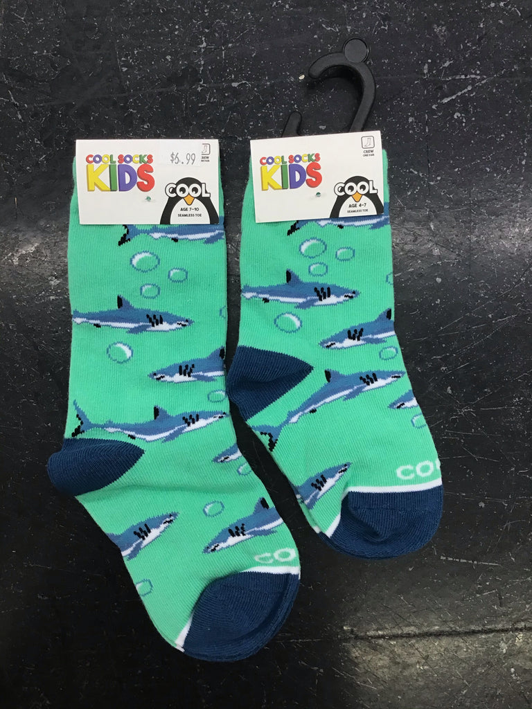 Shark Aquarium Kid's Socks