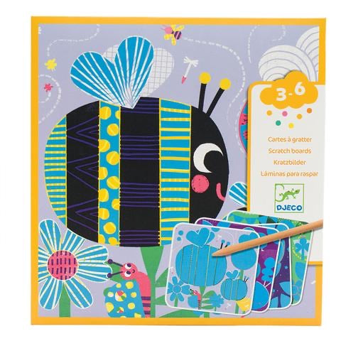 Djeco Bugs Scratch Boards