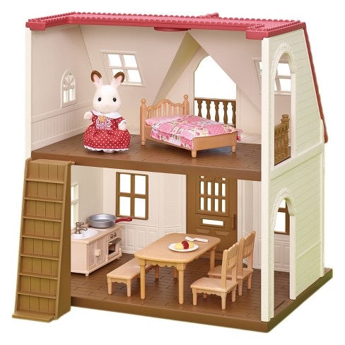 Calico Critters Red Roof Cozy Critters Starter Home