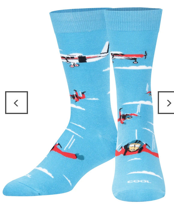Free Fall Skydiving Crew Socks