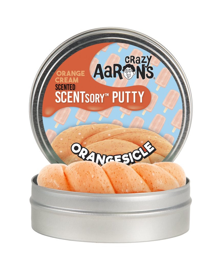 Orange Cream Scentsory Putty in Orangesicle