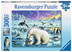 Polar Animals Gathering 300 Piece XXL Puzzle