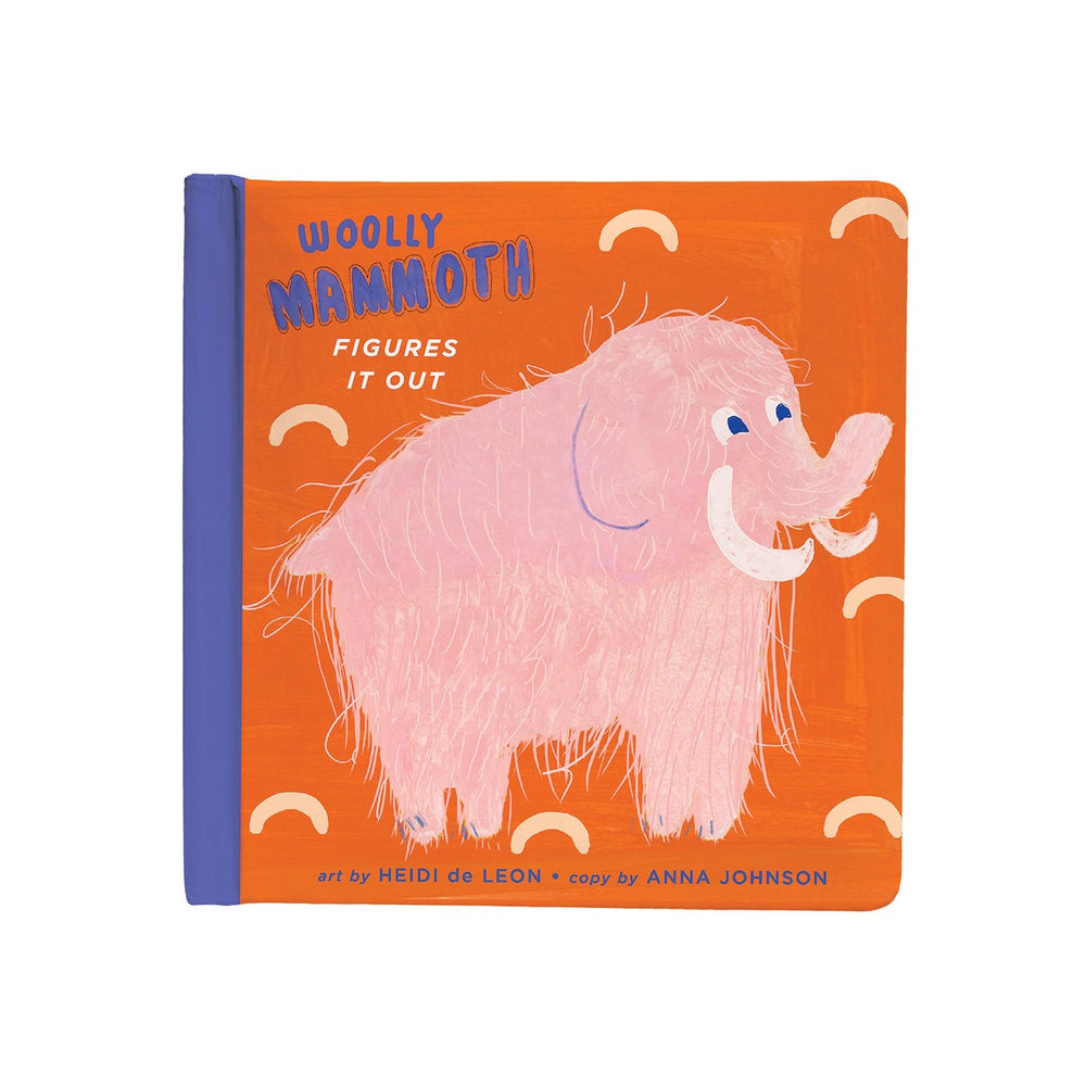 Wooly Pink Mammoth Book