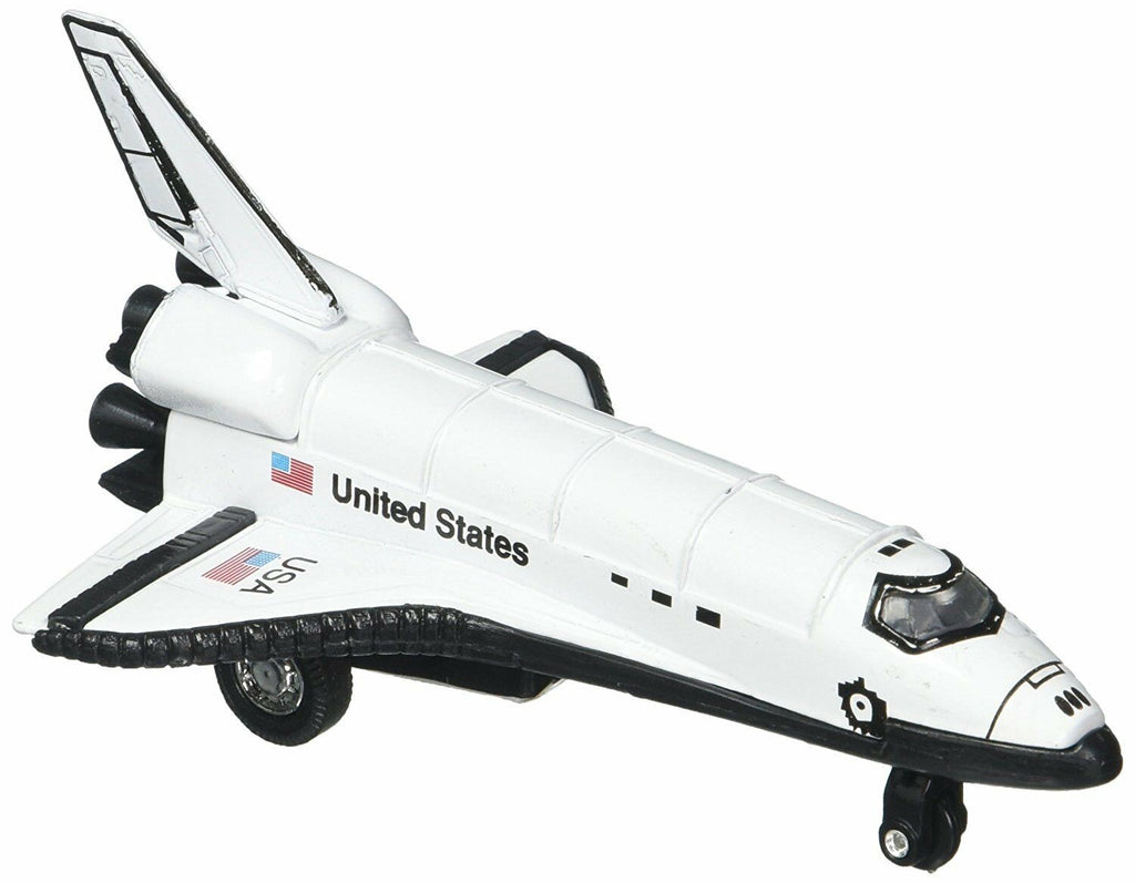 Pull-back Space Shuttle