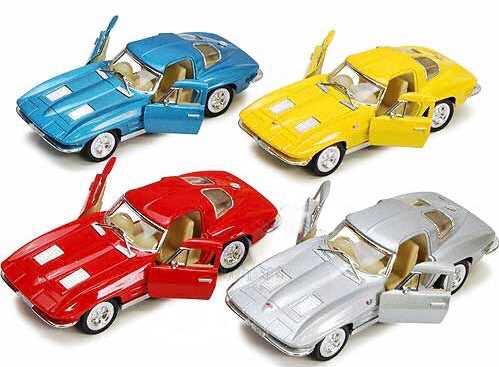 Diecast Pull-back 1963 Sting Ray