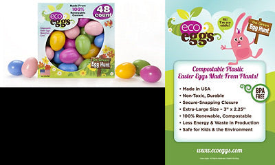 Eco-eggs Large Easter Eggs 28 Count